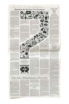diseño editorial en periodicos