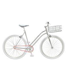 Martone Cycling Co. Women's Regard Bike - Sporty chic for Super Bowl Sunday #ShopBAZAAR http://shop.harpersbazaar.com/trends/game-set-match