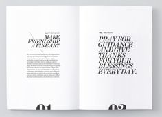 print + editorial + typography + layout