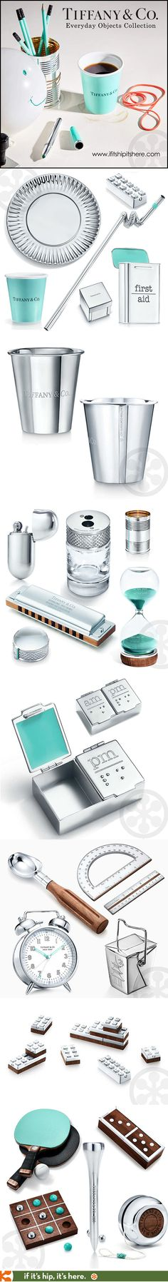 Tiffany & Co has launched the Everyday Objects collection. Ordinary housewares and objects made of sterling silver, enamel and wood. See more at http://www.ifitshipitshere.com/tiffany-co-everyday-objects/