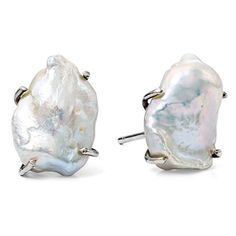Women's Stephen Dweck Pearl Stud Earrings (€175) ❤ liked on Polyvore featuring jewelry, earrings, stephen dweck, pearl jewelry, white pearl earrings, stephen dweck jewelry and stephen dweck earrings