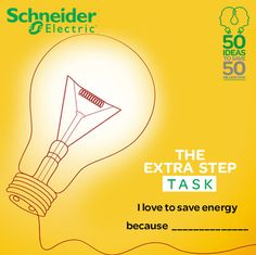 Fill in the blank to win #TheExtraStep today! I love to save energy because ______________ Share with us why do you love to save energy and win prizes! Don't forget to update the Energy Marathon app too to be the daily, weekly and the grand prize winner!