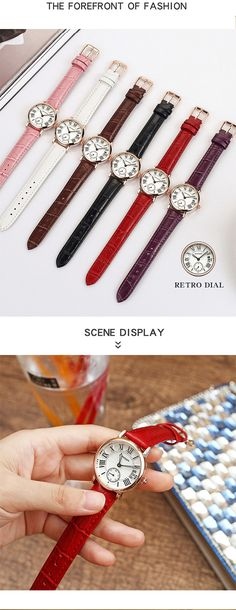 SANDA P206 Kvinner Quartz Watch Quartz Watch, Women Jewelry, Watches, Retro, Lady, Style, Fashion, Swag, Moda