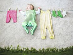 Adorable ideas for sleeping baby photos!