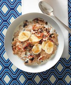 Hearty and healthy, this quinoa and oat porridge = the perfect winter breakfast.