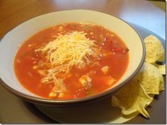 Healthy Tortilla Soup