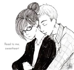Amazing Drawing. Fangirl by Rainbow Rowell
