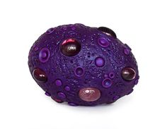 Purple Dragon Egg with Purple Gems
