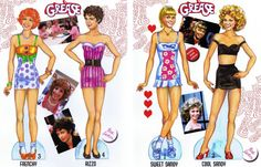 Grease Paper Doll - cleanhouse2000@hotmail center - Álbumes web de Picasa