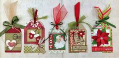 Mom and Me Scrapbooking SLC Utah 801-466-9474 Christmas Tag kit. Makes 10 tags. So so cute!!!!