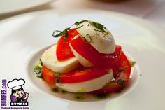 Caprese Salad @ Gianni Restaurant, Bangkok