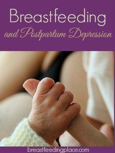 Breastfeeding and Postpartum Depression   - BreastfeedingPlace.com #ppd #depression