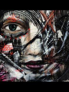 Street art in Brazil by L7M