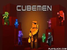 Cubemen  Android Game - playslack.com , Cubemen is a strategy with multiplayer. The game combines the substance of several kinds in itself: from one side it is structure Defense, from another side it is RTS. If you want to translation your soldiers, nothing can be easier. Just urgencies the unit needed and move it to the right point. system abilities have cross-platform roots and existing you the possibility to compete with other players having  inclinations diverse from yours.