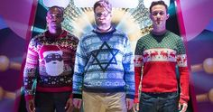 'The Night Before' Trailer Reunites Seth Rogen & Joseph Gordon-Levitt -- Seth Rogen, Anthony Mackie and Joseph Gordon-Levitt star as three friends trying to find a holiday party in the new trailer for 'The Night Before'. -- http://movieweb.com/night-before-movie-trailer-2015/