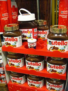 I'll take the industrial sized Nutella...that should last me a few weeks..