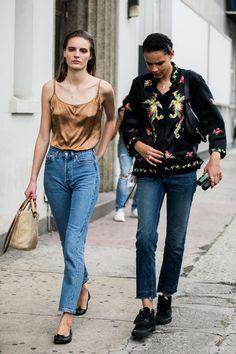 street style new york fashion week : tilda lindstam binx walton model off duty