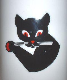 Cat's Paw brand rubber shoe heels black cat logo ceramic coffee mug Spiderman Black Cat, Black Cat Marvel, Black Cat Tattoos, Tattoo Black, Black Cat Aesthetic, Cat Logo, Mugs For Sale, Cat Wallpaper, Cat Paws