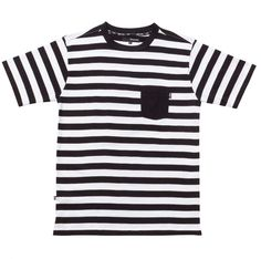 The Quiet Life - Harlo Shirt Black White Stripes, Black And White, Washing Machine And Dryer, Out Of Style, Going Out, Short Sleeves, Warhol, Mens Tops, T Shirt
