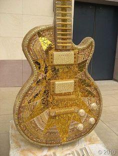 gold-guitar