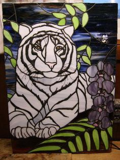 StainedGlassville Art Glass Forums - Tiger