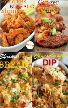 Top Appetizers-Creole Contessa