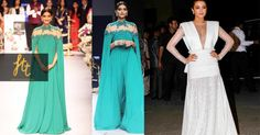 One #trend that has been a big hit is the capes. The #celebrities are making a #style statement with this trend everywhere. Be it the cape over #saree or cape suits or cape #jackets. #Bollywood has loved the cape trend and we give this trend a thumbs up too.
