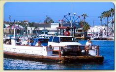 Newport Beach, Balboa Ferry from Balboa Peninsula to Balboa Island.