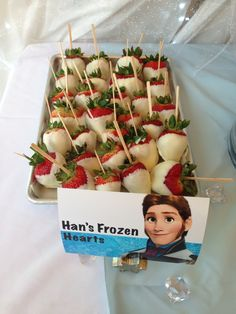 Movies in the Park-Frozen Snacks. Hans' Frozen Hearts