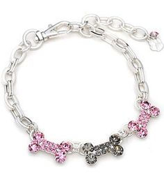Sterling Silver Crystal Dog Collar - This Adorable Accent Piece is the Perfect Pet Collar