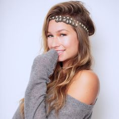 Mulholland Headband #hairbands #lovetassel Every TASSEL Headband is carefully crafted using delicate seed beads, rhinestone chains and jewels, all strung and set using a tambour technique that is completely done by hand. Each band is backed with genuine leather and has an adjustable strap that is finished with a signature TASSEL charm.