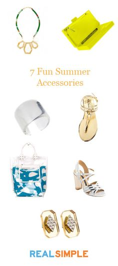 Our favorite summer accessories this year!