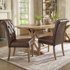 Benchwright Premium Tufted Rolled Back Parsons Chairs (Set of 2) by iNSPIRE Q Artisan | Overstock.com Shopping - The Best Deals on Dining Chairs