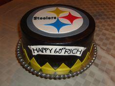Steelers Cake by Designer Cakes By April, via Flickr