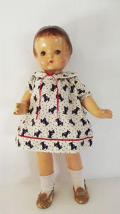 Vintage Effanbee Patsy Ann Doll circa 1920's - 1930's.