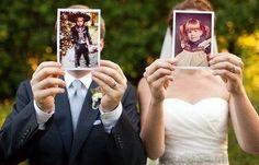 Witzige Hochzeitsfotos - Brautpaarfotos