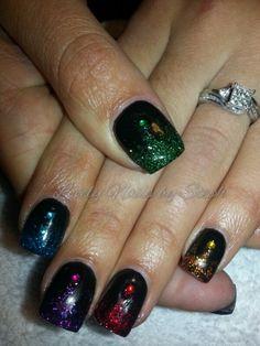 Shapely Sparkles Nail Art - - NAILS Magazine