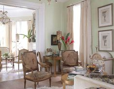 French Furniture Really Lasts | Orange Curtains, French Creole And  Neoclassical