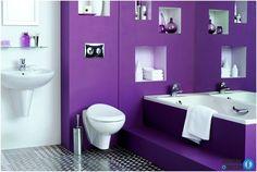 bathroom color and decor