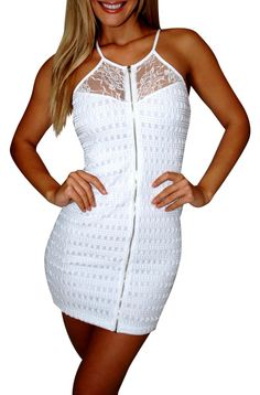 Fun Passport (White)-Great Glam is the web's best online shop for trendy club styles, fashionable party dresses and dress wear, super hot clubbing clothing, stylish going out shirts, partying clothes, super cute and sexy club fashions, halter and tube top