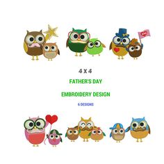 Father's Day Bundle Set Embroidery Design  Machine