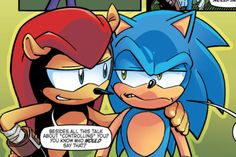 sonic the hedgehog 266 posts - EVERY pic of Mighty the Armadillo in Archie comics
