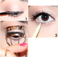 Liana Beauty: How To: Make Your Eyes Look Bigger With Makeup- this is a great tip for events and special occasions!