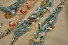 Art Studio 522: Crocheted bracelets