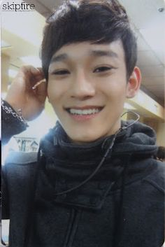 chen exo-m..... Aww that o so sweet smile of his. Y do all of them have such cute smiles