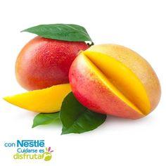 El mango proporciona un gran aporte de vitamina C y vitamina A. Es una fuente muy rica de potasio y fibra y además es de las frutas que menos probabilidades tienen de contener residuos de pesticidas. También contiene beta caroteno y lupeol, el cual es un poderoso antioxidante. Y gracias a sus enzimas digestivas que ayudan a descomponer las proteínas, es un aliado de la digestión.   ¡Pruébalo!