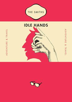 Smiths lyrics as Penguin Classic book covers