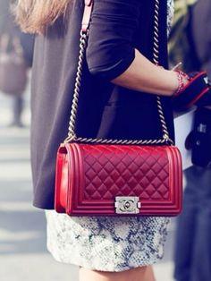 Chanel Boy handbag  It's soooooo pretty