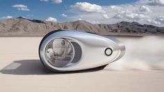 流線型が特徴んキャンピングカー!未来の車デザインまとめ