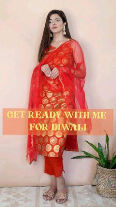 Fashion Poses, Teen Fashion Outfits, Diy Fashion, Fashion Tips, Dress Indian Style, Indian Dresses, Diwali Outfits, Casual Indian Fashion, Stylish Blouse Design